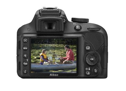 Nikon D3300 - Cámara réflex digital de 24.2 Mp (pantalla