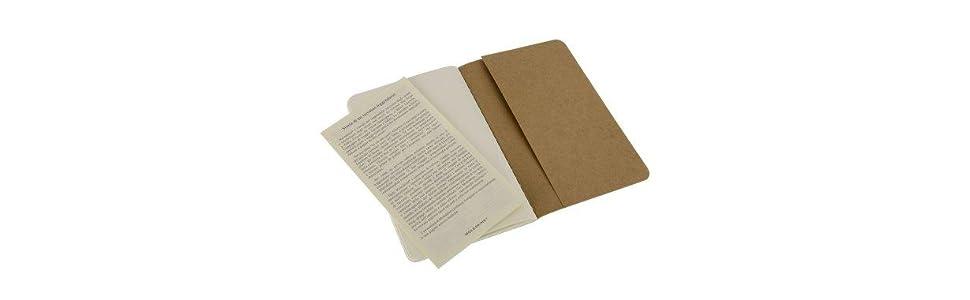 Moleskine Cahier Journal (juego de 3 cuadernos con páginas en ...