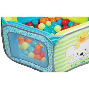 Itsimagical parque de juegos con bolas de colores para for Piscinas de bolas para bebes