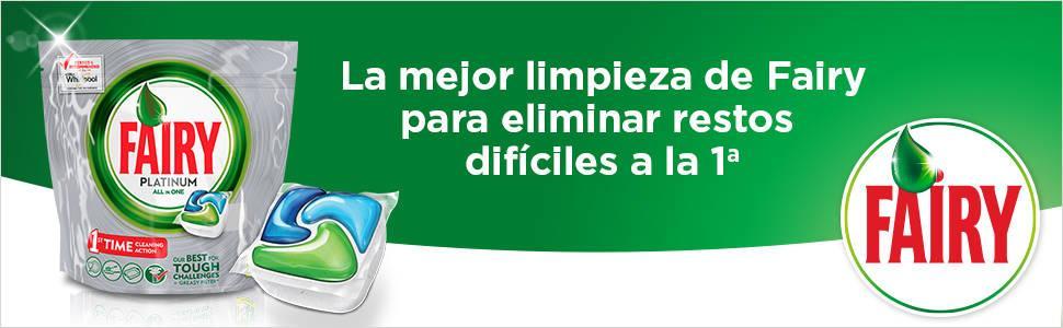 Fairy Platinum Cápsulas De Lavavajillas - 1 Bolsa