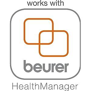 Beurer BF 480 USB - Báscula de baño diagnóstica, con conexión a PC, vidrio transparente: Amazon.es: Salud y cuidado personal