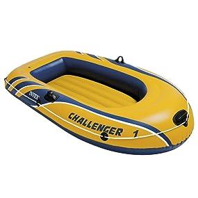 Intex Challenger 1 - Barco hinchable, 193 x 108 x 38 cm