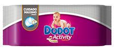 Dodot Sensitive - Toallitas, 9 paquetes de 54 unidades