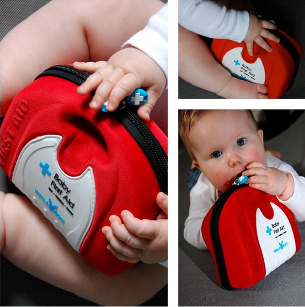 Wallaboo - Botiquín de primeros auxilios para bebé, color