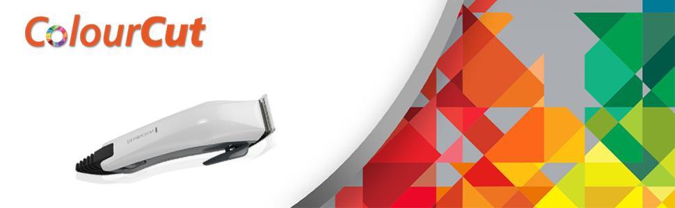 CORTAPELOS REMINGTON HC5035 COLOURCUT 9 PEINES CUCHILLAS AUTOAFILABLES DE  ACERO 0772c17e1077