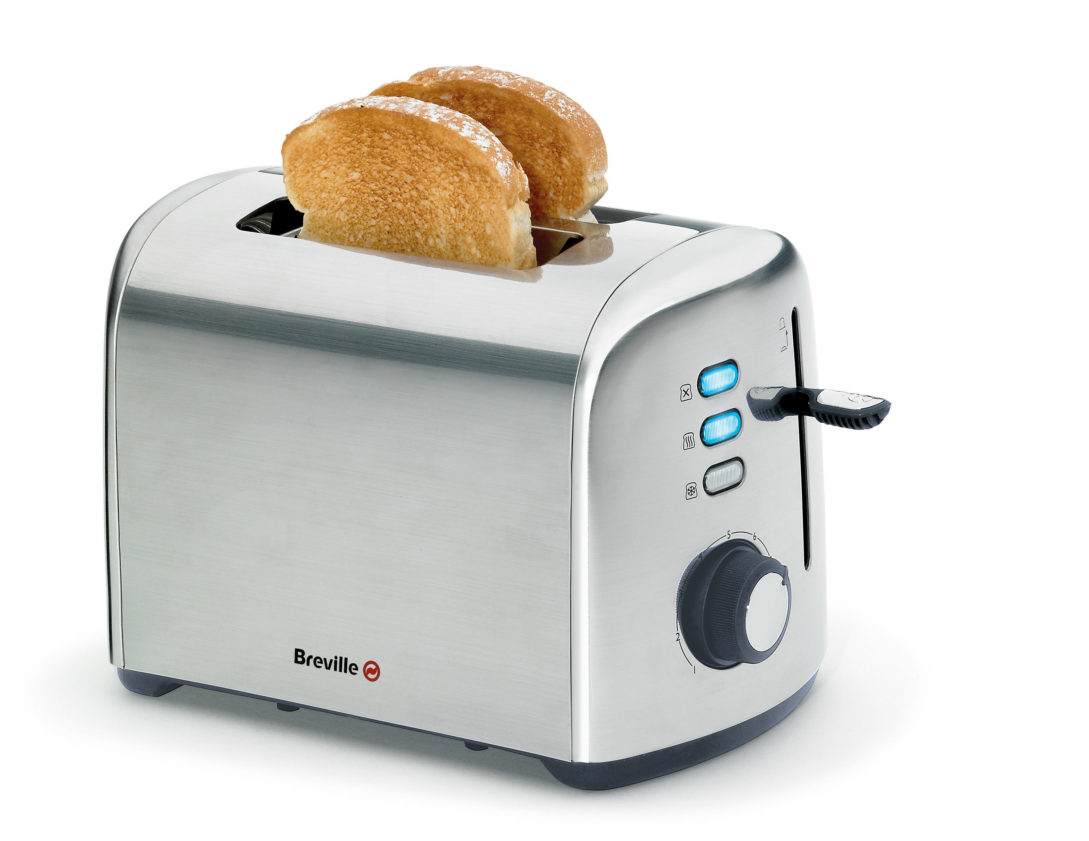 Breville vtt505x tostadora de doble rebanada acero - Tostadora diseno ...