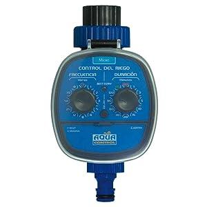 Aqua Control C4099N Programador de Riego para Jardín, Para todo tipo de Grifos, Apertura a 0 Bar: Amazon.es: Jardín