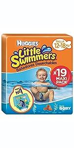 93d04682dbd7 ... Piscina, protección, niño, niña, bebé,bañador bebé, pañal , absorción