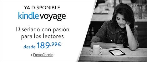 Kindle Voyage: Diseñado con pasión para los lectores. Ya disponible.