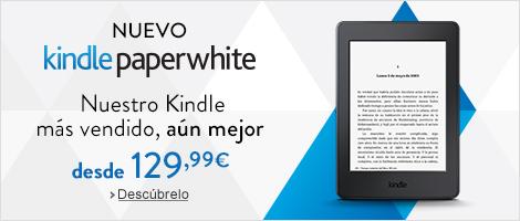 Nuevo Kindle Paperwhite: Nuestro Kindle más vendido, aún mejor