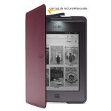Image of Kindle Black Leather Cover with 
