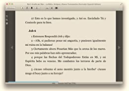 image of kindle for mac book screen with page numbers shown