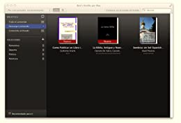 image of kindle for mac library in cover view