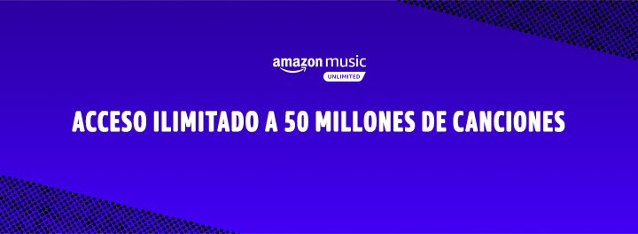 Amazon Music Unlimited 9,99€/mes. Tarifa exclusiva para clientes Prime: 99€ al año (2 meses de ahorro)