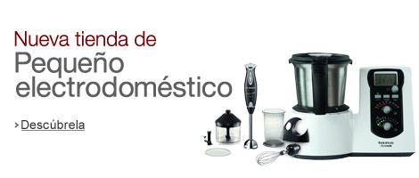 Amazon tienda de peque o electrodom stico folletos - Robot de cocina alcampo ...