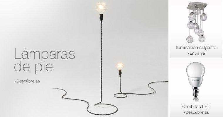 Iluminaci n l mparas bombillas led for Lampara con forma de bombilla