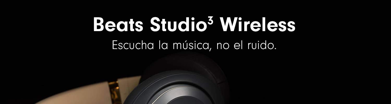 Beats Studio3 Inalámbrico Auriculares cerrados, Negro mate ...
