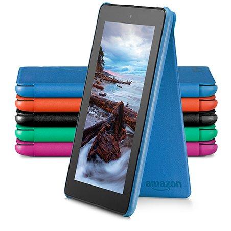 Amazon funda para fire tablet de 7 pulgadas 5 generaci n modelo de 2015 azul - Fundas kindle amazon ...