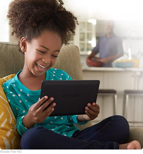 "Fire HD 6, pantalla HD de 6"" (15,2 cm), Wi-Fi, 8 GB (Negro"