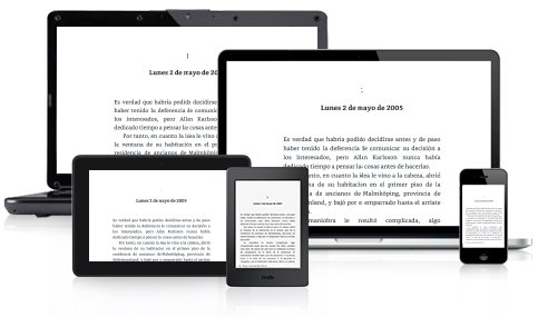 dispositivos con ebook