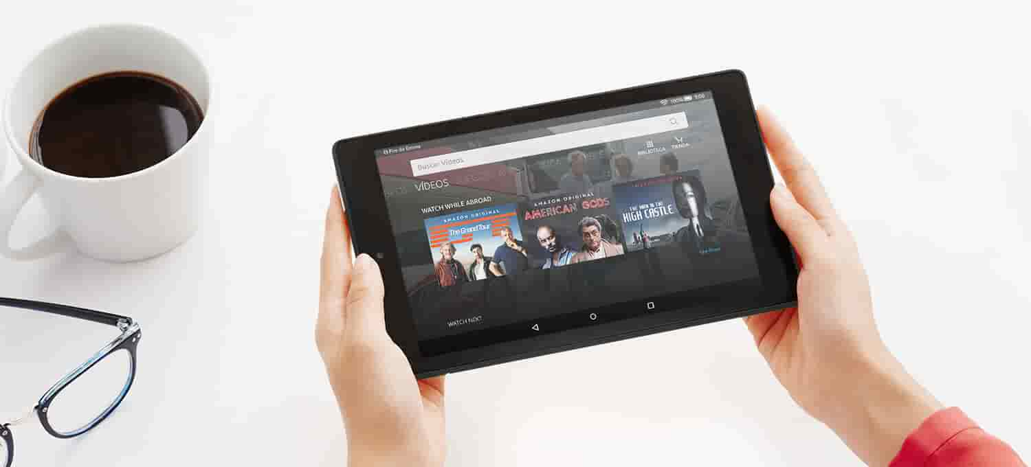 Funcionalidades exclusivas del tablet Fire