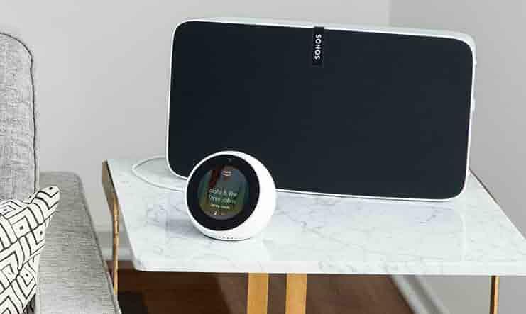 Amazon Echo Spot, negro + EZVIZ ezCube Pro Cámara de ...