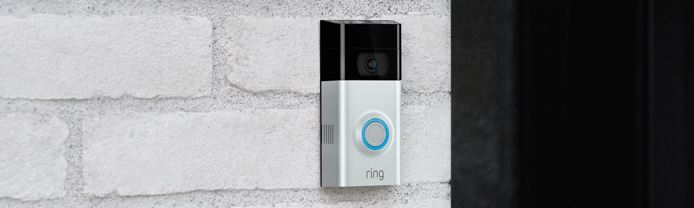 Ring Video Doorbell 2 | Vídeo HD 1080p, comunicación bidireccional, detección de movimiento, conexión Wi-Fi