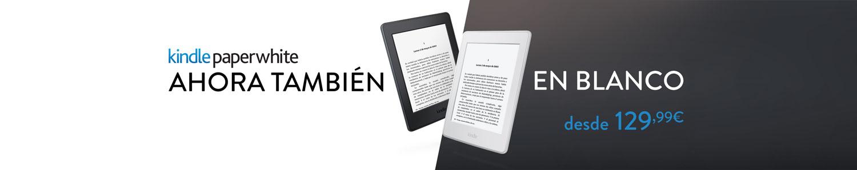 Kindle Paperwhite - ahora en blanco