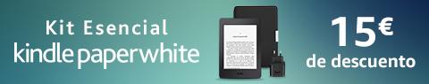 Kit Esencial Kindle Paperwhite | 15 € de descuento