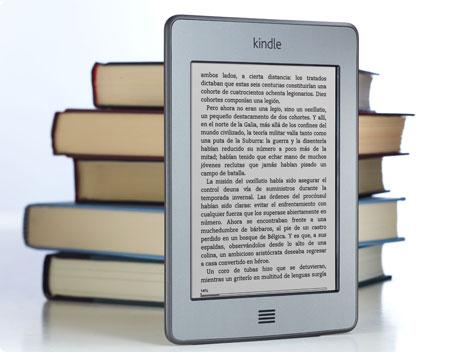 Kindle Touch 3G: e-reader con 3G gratis + wifi y pantalla