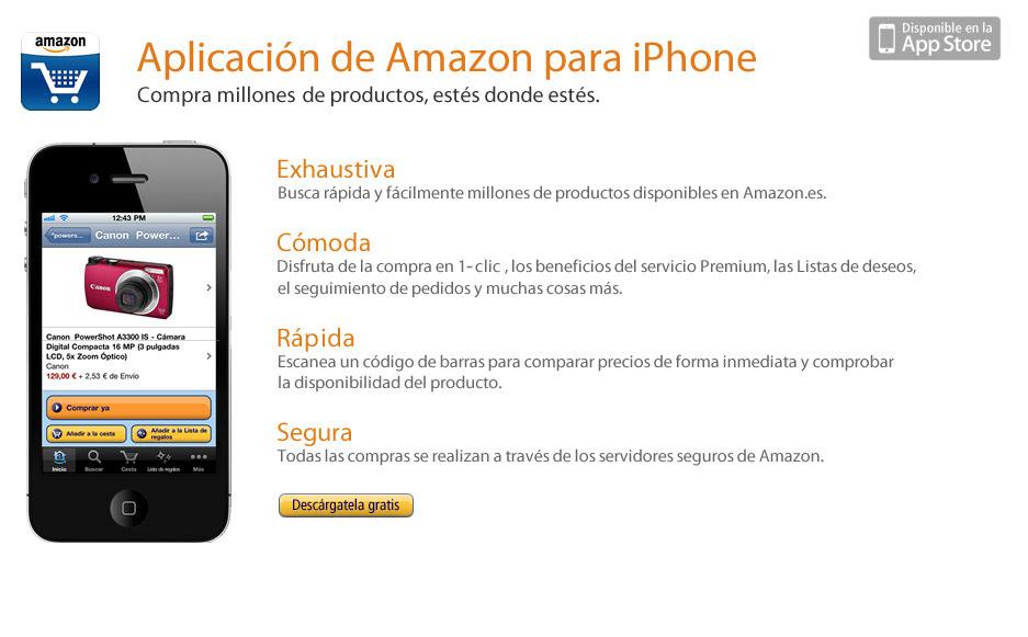 Amazon.es: aplicación para iPhone
