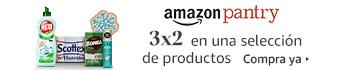 Amazon Pantry: Oferta 3x2