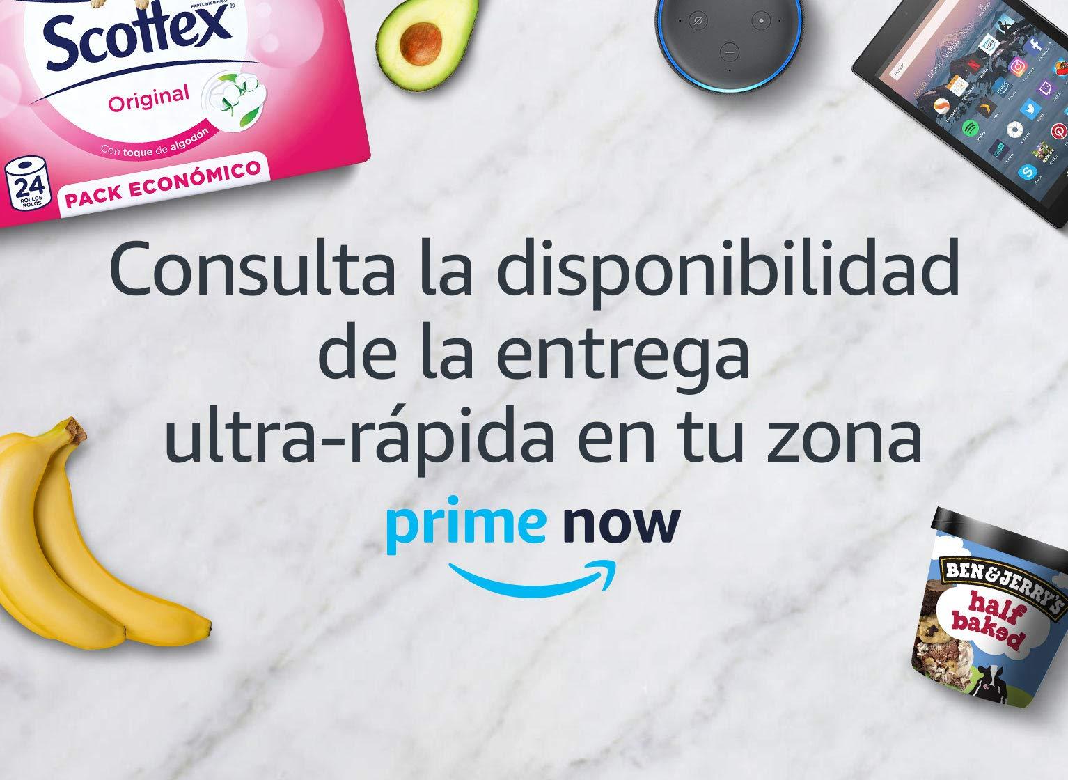 descuento amazon prime now madrid
