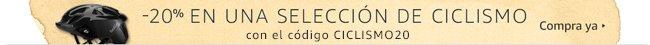 -20% en una selección de Ciclismo con el código CICLISMO20