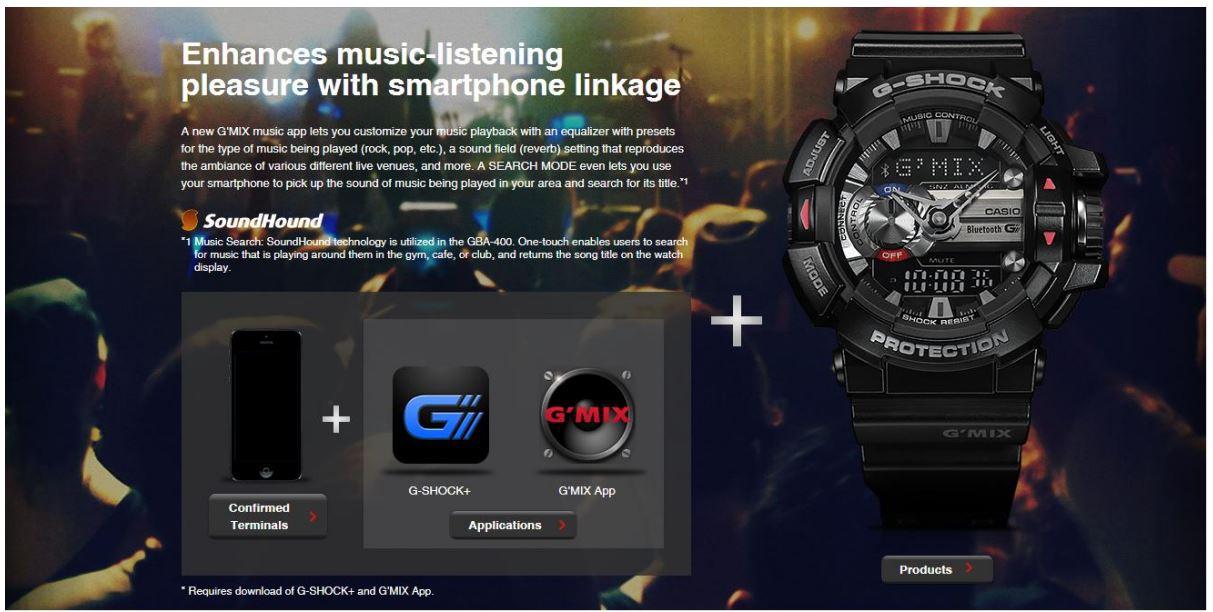 0d7bfcd82 Buy G-Shock Bluetooth Analog-Digital Black Dial Men s Watch - GBA ...