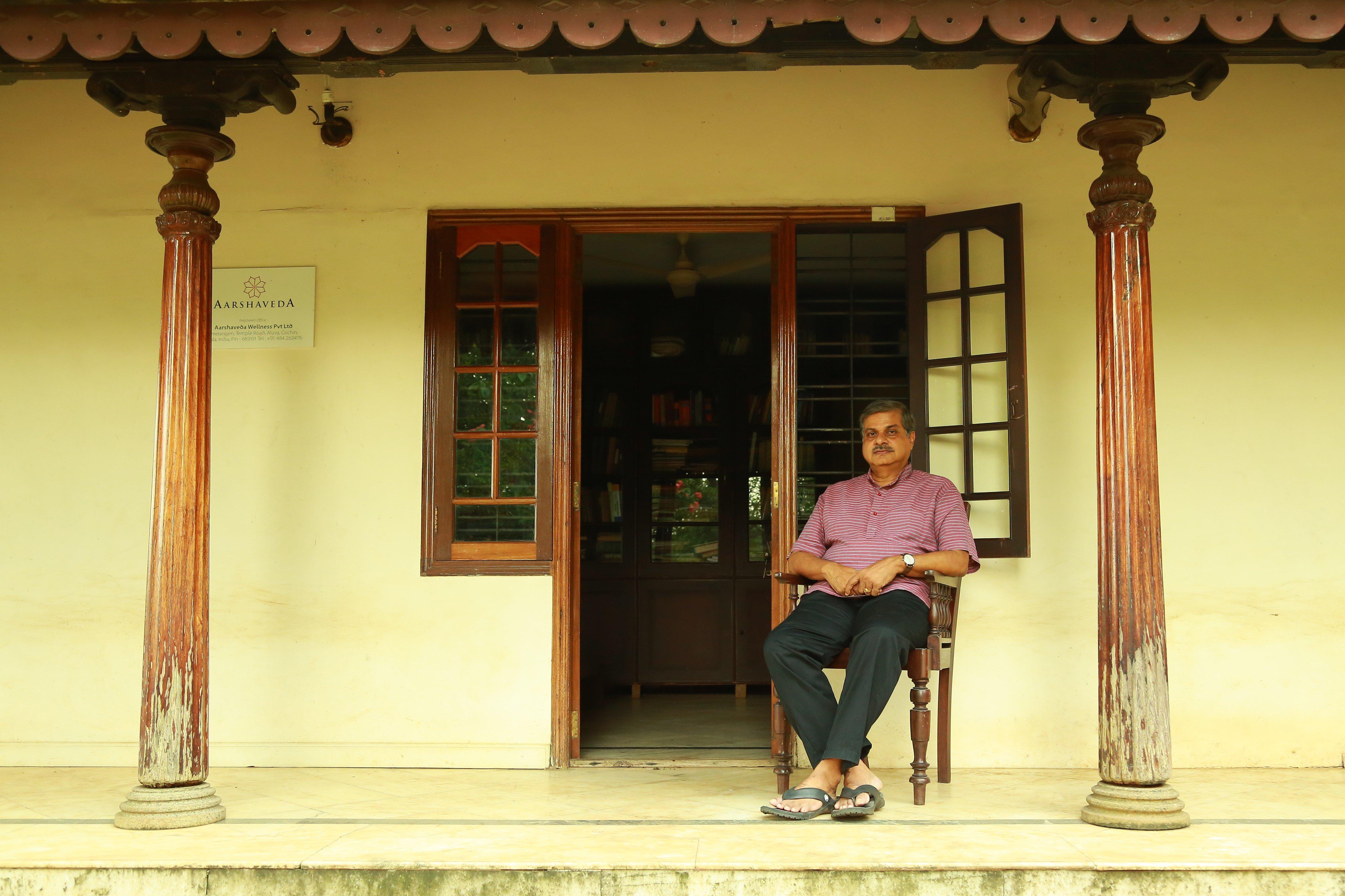 Office of online selling Ayurveda brand Aarshaveda
