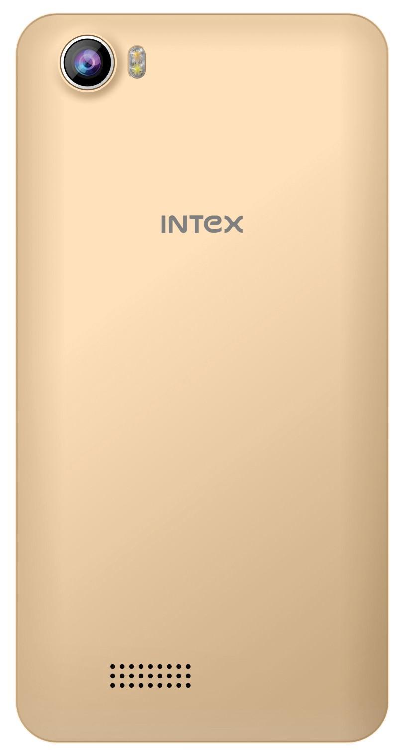 Intex Aqua 4G Strong (Champagne, 8GB)