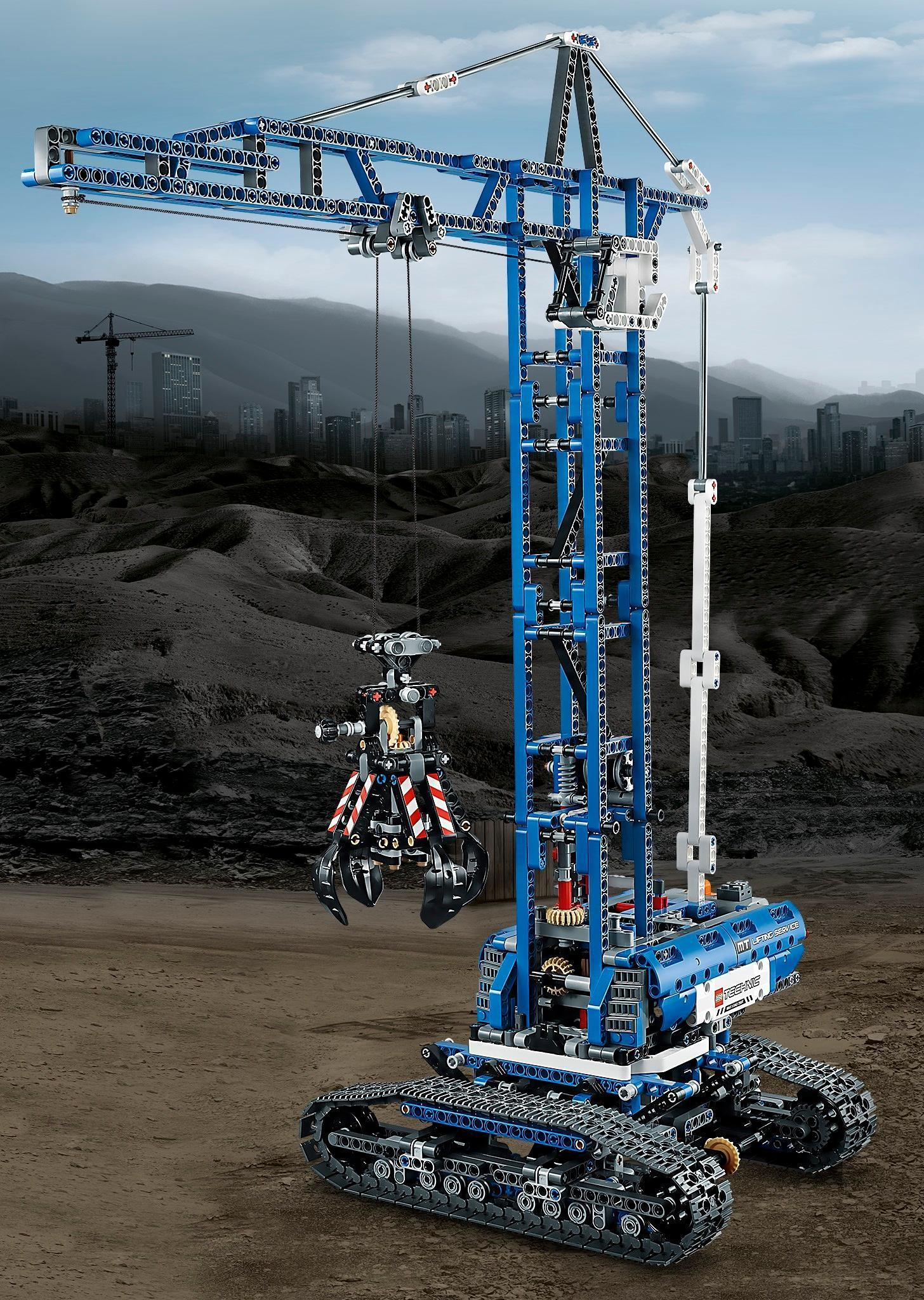 Buy lego technic crawler crane multi color online at low prices view larger fandeluxe Images
