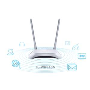 TP Link TL-WR840N 300Mbps DSL Router - White