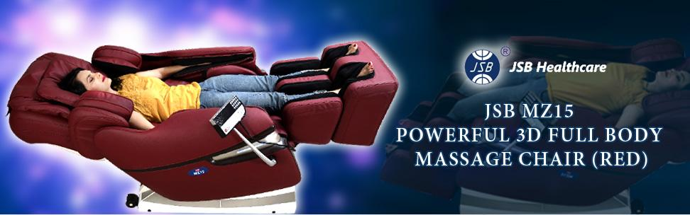 Jsb Mz15 Full Body Massage Chair With Powerful 3d Back And