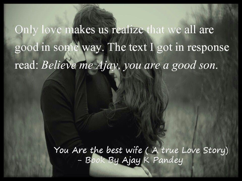 Buy you are the best wife a true love story book online at low view larger fandeluxe Choice Image