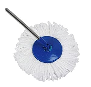 Gala Spin Mop Extendable Handle With Microfibre Refill