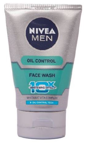 Nivea Men Oil Control Moisturiser (10X whitening), 50ml ... Nivea Face Wash For Men Oil Control