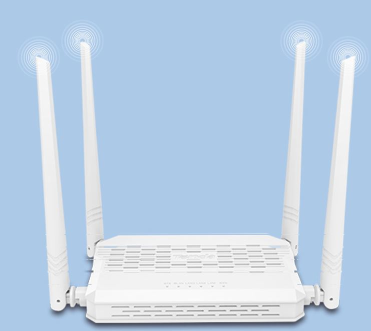 Tenda Fh330 High Power N300 Enhanced Wireless Router With