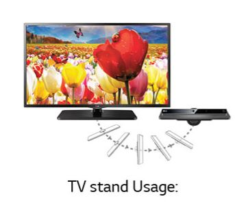 lg 28lf515a 70 cm hd ready led tv electronics. Black Bedroom Furniture Sets. Home Design Ideas