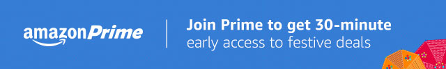 Join Prime to enjoy 30 minutes early access to festive deals
