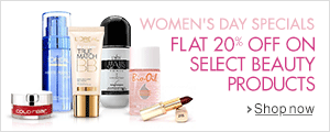 Flat 20% off on select Beauty products