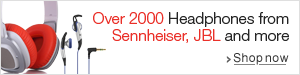Over 2000 Headphones from Sennheiser, JBL and more