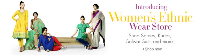 Just Launched: Ethnic Wear Store
