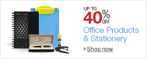 Up to 40% off on Office Products and Stationery